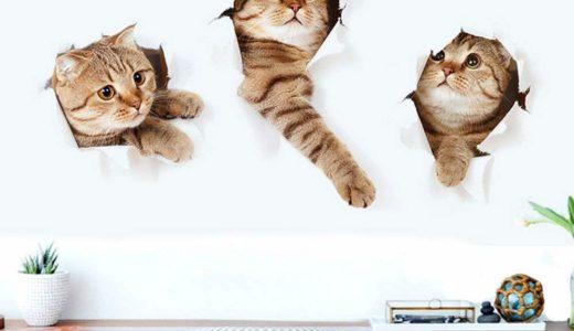 【話題】壁に貼る猫のウォールステッカーが欲しすぎる!!