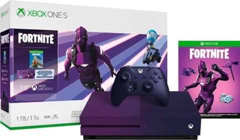 【フォートナイト】ダークヴァーテックススキンの入手方法!【Xbox One S スペシャルエディション】