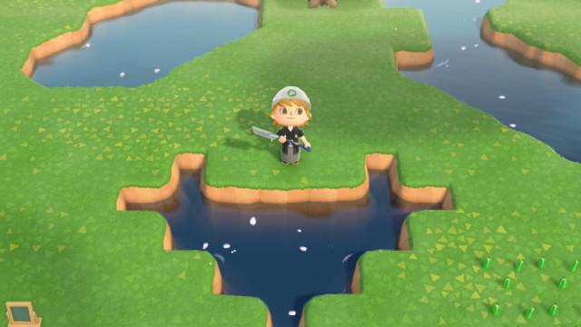 池 あつ森 クローバー